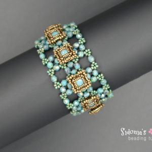 Buttons Bracelet - Beading Tutorial
