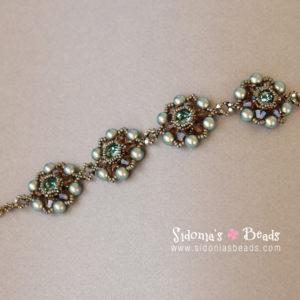 Blooming Bracelet-Beading Tutorial