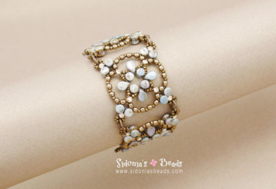 Catherines Windows Bracelet-Beading Tutorial