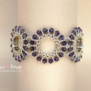 Contemporary Rosettes Bracelet-Beading Tutorial
