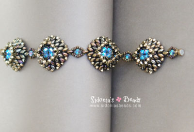 Crystal Ponds Bracelet-Beading Tutorial
