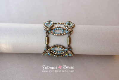 High Circles Bracelet-Beading Tutorial