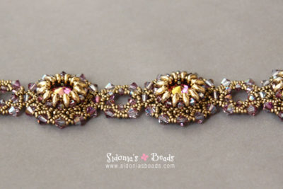 Lotus Flowers Bracelet - Beading Tutorial