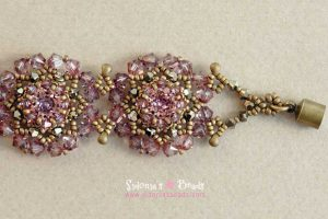Lovely Flowers Bracelet - Beading Tutorial
