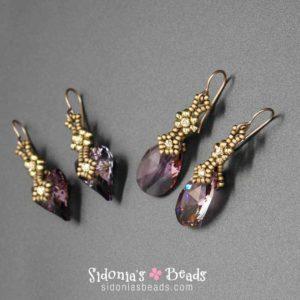 Charming Crystals Earrings - Beading Tutorial