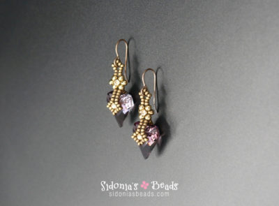 Charming Crystals Earrings - Beading Tutorial