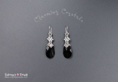 Charming Crystals Eearrings - Beading Tutorial