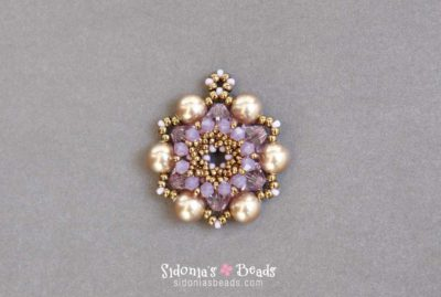 In Blossom Pendant - Beading Tutorial