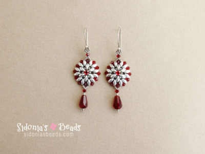 Victorian Earrings - Beading Tutorial