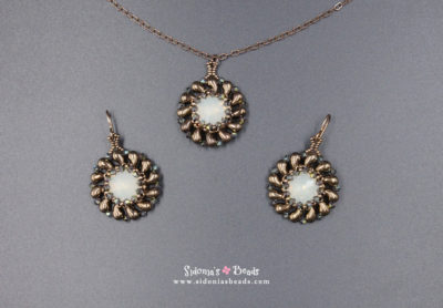 Zoli Pendant and Earrings - Beading Tutorial