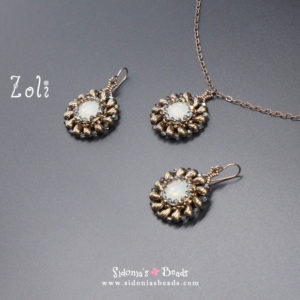 Zoli Pendant and Earrings - Beading Tutorial