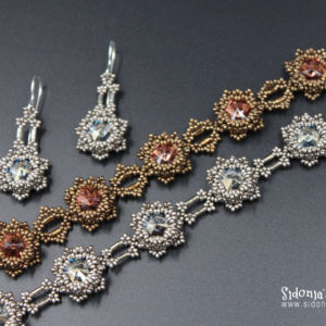 Blazing Stars Bracelet and Earrings - Beading Tutorial