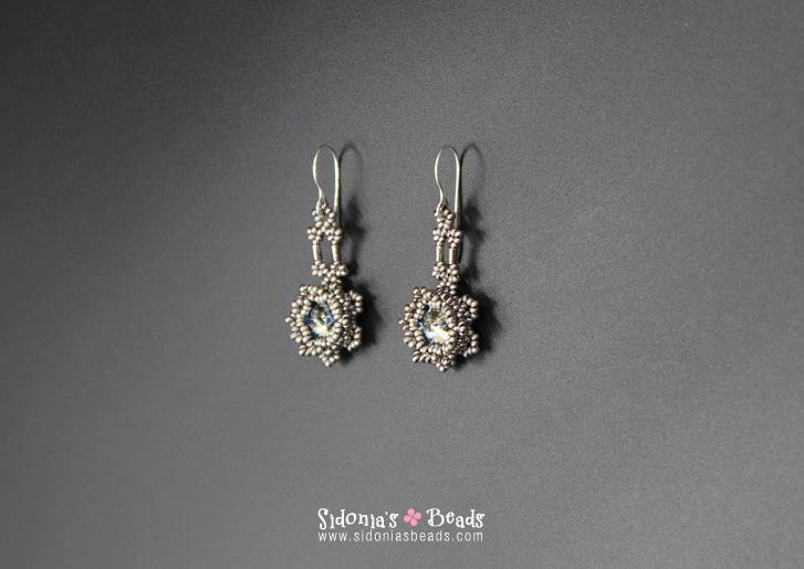 Blazing Stars Bracelet And Earrings Beading Tutorial