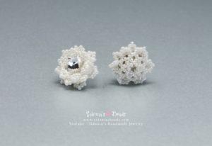Glamorous Snowflakes Earrings - Beading Tutorial