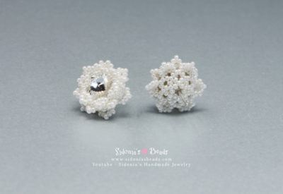 Glamorous Snowflakes Earrings - Beading Tutorial