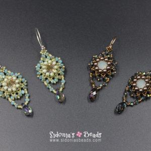 Glassy Earrings - Beading Tutorial