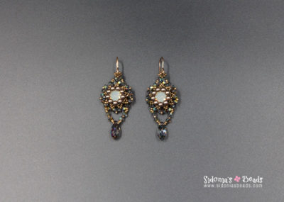 Glassy Earrings - Beading Tutorial